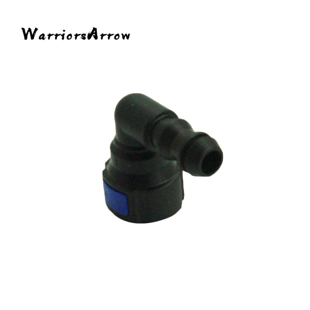 WarriorsArrow Headlight Washer 90 Degree Elbow Fitting Hose For VolksWagen Golf Jetta Passat For Audi TT Q3 For Skoda 6R0955665