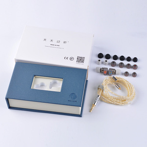 Image 5 - 2019 TinHIFI Tin 오디오 T3 이어폰 1DD + 1BA Knowles 드라이브 HIFI Bass 이어폰 메탈 3.5mm 이어폰 이어 버드 MMCX Tin T2