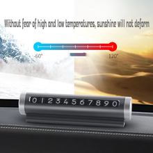 Flexible Rotatable Car Temporary Parking Card Telephone Phone Number