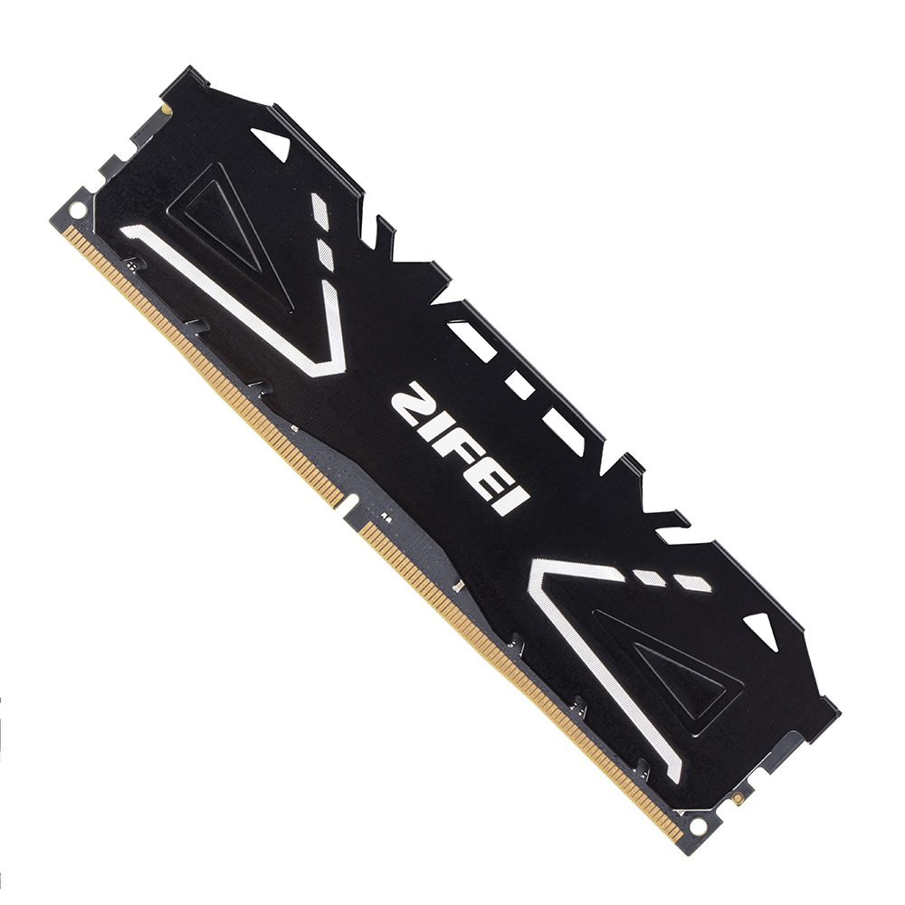 ZIFEI 8GB 16GB 2133 2400 MHZ 2666MHZ DIMM motherboard Desktop Memory COOLING FIN DDR4 RAM with Heat Sink image