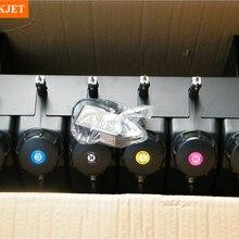 6 цветов УФ объемных система чернил с датчиком без картриджа для плоских УФ-чернил принтера(не нужно картридж