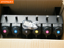 6 color UV bulk ink system with sensor without cartridge for  Flat printer (not need cartridge)