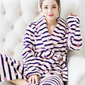 new brand plus size women sexy plush coral fleece robes winter flannel robe ladies pajamas bathrobe sleepwear nighgown