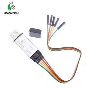 Image 2 - Aluminium shell CP2102 USB 2,0 zu TTL UART Modul 6Pin Serial Converter STC Ersetzen FT232 Modul unterstützung 5v/3,3 v für arduino