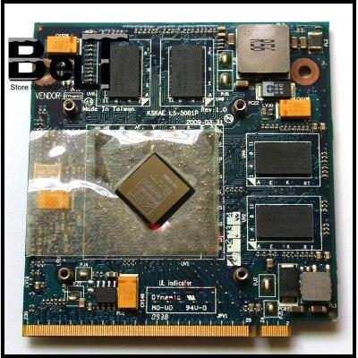 For Toshiba A500 L500 L550 VGA Video Card HD4650 M96 DDR3 1G 216 0729042 KSKAE LS