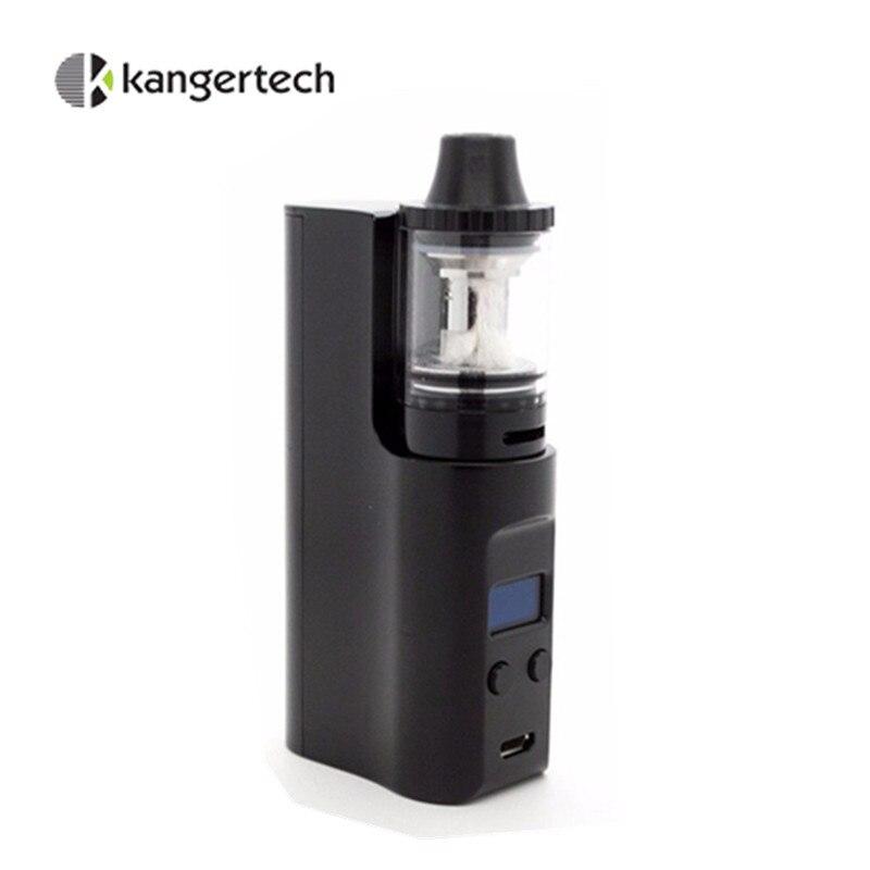 Electronic Cigarette Starter Kit Original Kangertech Juppi 75w TC MOD with 3ml Atomizer Tank 0.2ohm Coil Vaporizer OLED Screen