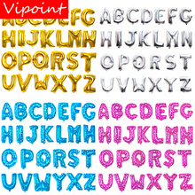 VIPOINT PARTY 16inch gold silver pink blue letter foil balloons wedding event christmas halloween festival birthday party FD-20