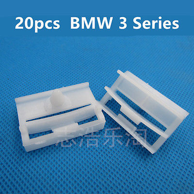 20x for BMW 3 Series E36 E46 E90 E91 Side Skirt Trim Clips Sill Moilding Clips Auto Car Accessories(China)