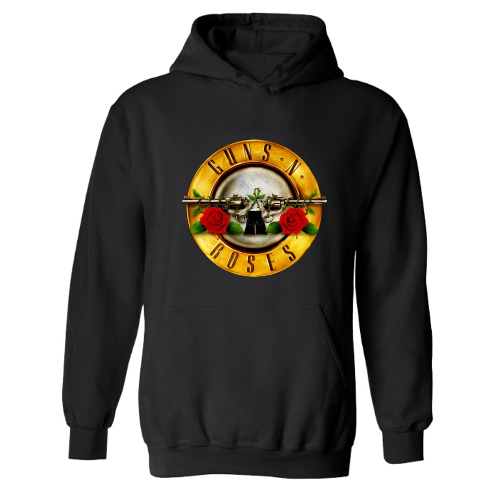 GUNS N ROSES Printed Hoodie Sweatshirt Men/women Fall Winter Long Sleeve Hoodies Sweatshirts Fashion Jacket Coat Guns And Roses