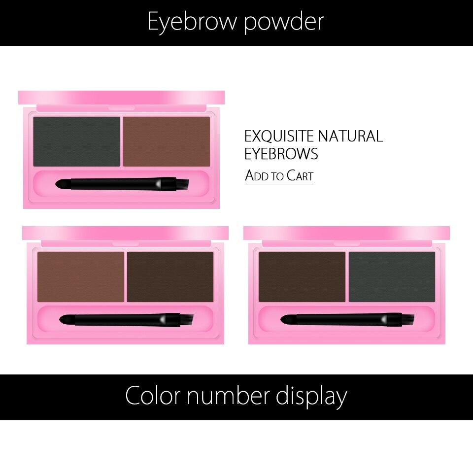 3CE Eunhye House Brand EyesMakeup Eyebrow Enhancer Powder 2 Color ...