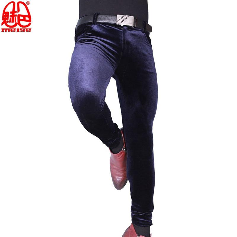 Sexy-Men-Plus-Size-Casual-Shiny-Pants-Elastic-Denim-Jeans-Lattice-Pencil-Pants-Soft-Slim-Clubwear (3)