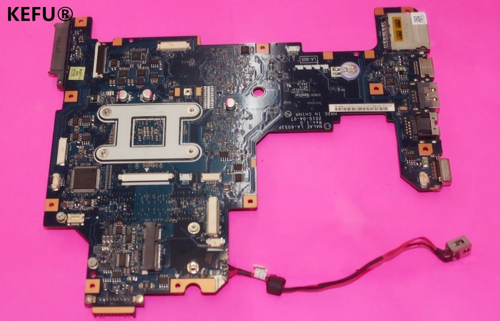 KEFU for TOSHIBA L675D LAPTOP MAINBOARD MOTHERBOARD K000103970 NALAE LA-6053P DDR3 full tested