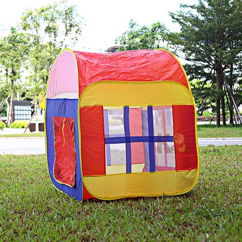 Enfants tente jouer tente maison pliable bébé jouer maison grand jeu magasin jouer maison enfants privé compartiment