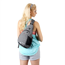 WATERFLY Unisex Sling Bag Backapck Chest For Outdoor Travel Cycling Hiking Sport