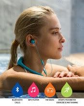 8gb bluetooth sports wireless hifi headphones waterproof swimming underwater mp3 player with fm radio earphone music player