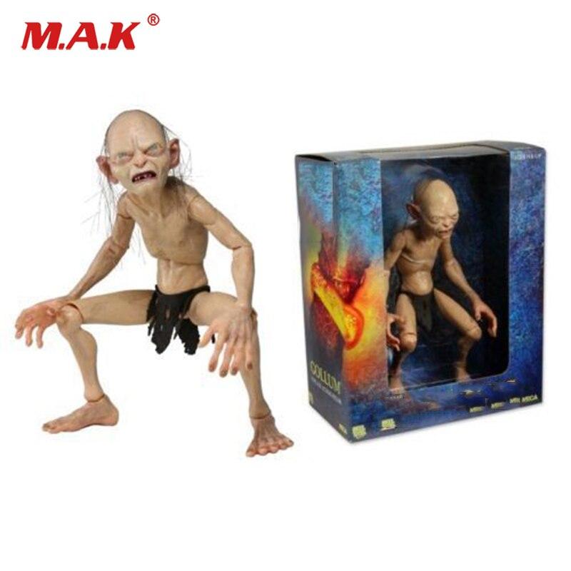 Для коллекций рисунок кино кукла Голлум смеагол подвижный 1/4 масштабные игрушечные Новый MIB смеагол CA