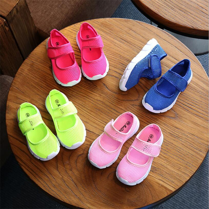Shoes For Kids 2019 Summer Mesh Sandals For Toddler Girls Children Boys Beach Sandalias Chaussure Fille Buty Dla Dziewczynki