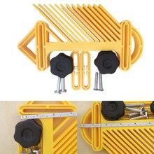 Пилы деревообрабатывающий торцовочный двойной станок многоцелевой профессиональный стол слот перо Loc доска ручные инструменты Калибр резьба гравировка