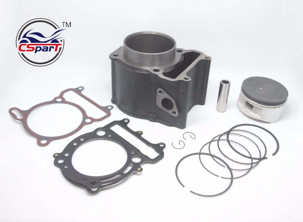 US $140 62 21% OFF 80mm 18MM Cylinder Kit Linhai 180MQ 400 400CC YP VOG ATV  Buggy Go Kart Parts-in ATV Parts & Accessories from Automobiles &