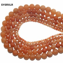 Wholesale AAA+ Faceted Red aventurine Stone Natural Beads For Jewelry Making DIY Bracelet Necklace 4 /6/8/10/12 MM Strand