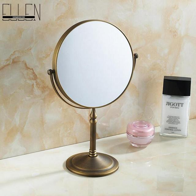 Bathroom Accessories Bath Mirrors Antique Bronze Deck Magnifier Bathroom Mirrors Bathroom Hardware-80290