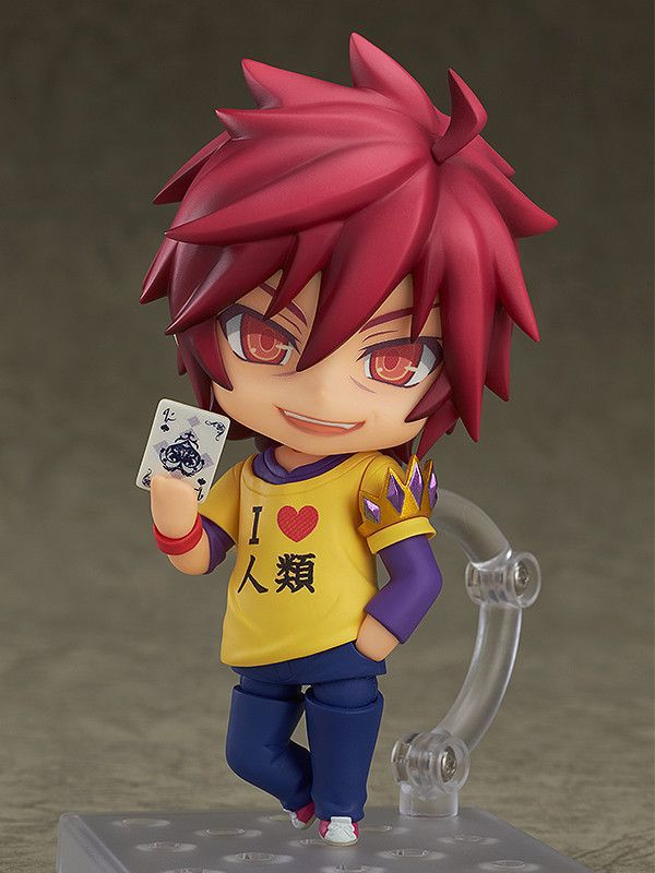 10cm NO GAME NO LIFE Q version Anime Action Figure PVC New Collection figures toys Collection for Christmas gift nendoroid anime sword art online ii sao asada shino q version pvc action figure collection model toy christmas gifts 10cm