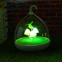 DC5V 0 5W USB LED Night Light Lamp Colorful Mushroom Portable Touch Sensor Night Lamps For