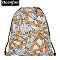 Deanfun escolar mochila 3D impresión viajes softback hombre mujer mochila feminina bolso de lazo del morral de cigarrillos