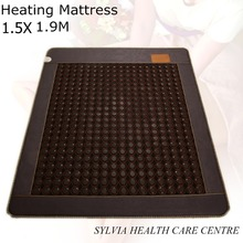 "Present for Christmas! Natural tourmaline mat ochre heat cushion tourmaline physical therapy mat 1.5X1.9M/ 59""X74.8"""