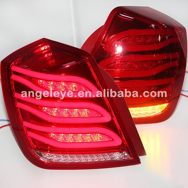 For  GM-BUICK Forenza Lacetti Nubira Optra LED Tail Lights for Benz Style 2003 TO 2007 year Red Color WH for nissan gtr gtr r35 led tail lights 2007 red