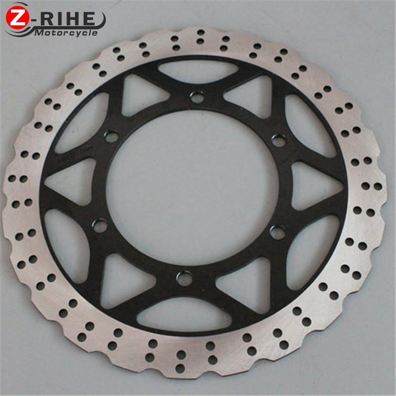 2PCS Front Floating Brake Disc Rotor motorcycle parts Aluminum  Brake Rotors For KAWASAKI NINJA250 EX25R 08-12 2008 2009- 2012 for kawasaki ninja 250 ninja250 2008 2015 ninja 300 ninja300 2013 2015 motorcycle aluminum short brake clutch levers black