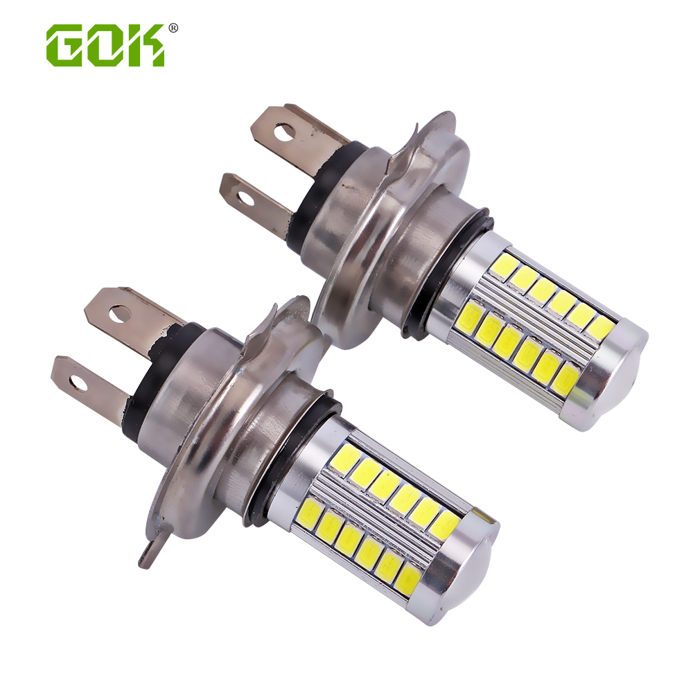2 X H7 H11 H4 33smd H4 Led 5630 5730 Led Headlight 33smd Led High Power Led Fog Light Fog Lamp 12V Fog Beam For Car Fog Light