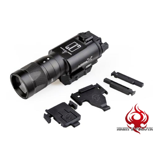 ФОТО Night-Evolution Tactical Weapon X300V Flashlight Strobe Version NE01010