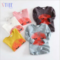 Spring new boys girls t-shirt cartoon girls boys clothing long sleeve girls tops tees designer kids fashion sweatshirt 2-8 Y