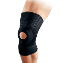 1pcs Adjustable Sports Training Elastic Knee Support Brace Kneepad Breathable Patella Knee Pads Hole Kneepad Safety Guard Strap 2pcs breathable non slip knee booster joint knee support brace kneepad sports climbing training squat patella protector powerleg