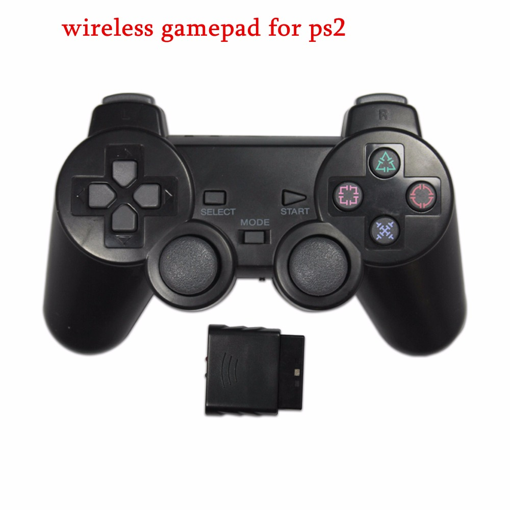 2.4G Wireless game gamepad joystick for PS2 controller Sony playstation 2 console dualshock gaming joypad for PS 2 play station wireless controller gamepad joystick for wii u pro