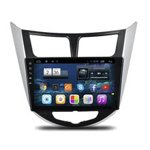 For Hyundai Solaris 2010~2015 10.1″ Car Android HD Touch Screen GPS NAVI CD DVD Radio TV Andriod System