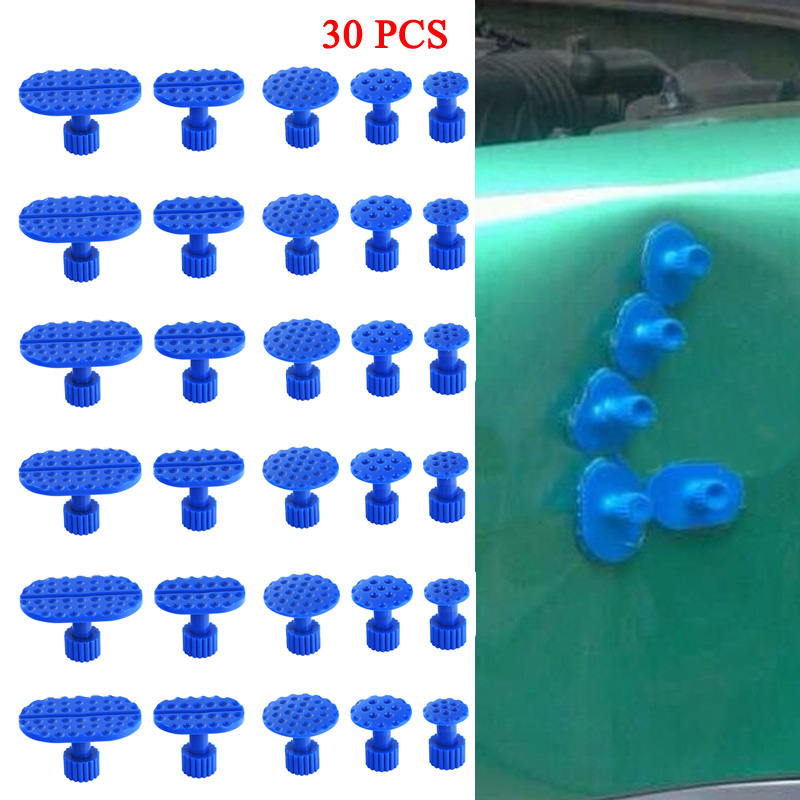 Image 2 - 30X Auto Body Dent Removal Pulling Tabs Paintless Repair Tools Glue Puller Kits-in Sheet Metal Tools Set from Automobiles & Motorcycles