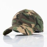 Fashion Camouflage casual outdoor fishing hat couple men and women geometric Army Green baseball cap