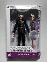 Batman Joker Figure Suicide Squad Dawn Of Justice Harley Quinn PVC Joker Toys 180mm Anime Movie