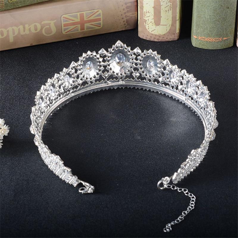 Snuoy Noble Glamour Full Drill Հարսանյաց Tiaras Perles Pour - Նորաձև զարդեր - Լուսանկար 5