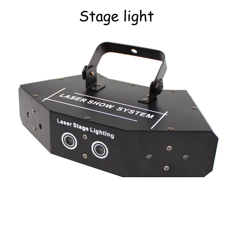 35w LED stage light  red, green and blue six eyes scanning laser lights KTV rooms full color laser lights bar discs flash 5pcs coco action figures set movable joint dolls toys