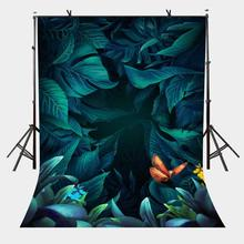 5x7ft Green Abstract Backdrop Fantasy Theme Background for Personal Party and Photography Studio Background Props 5x7ft fantasy blue