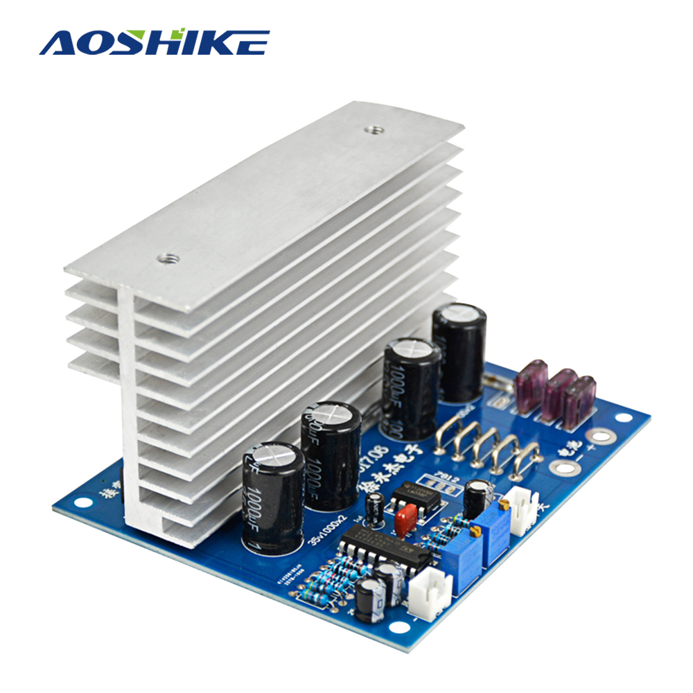 Aoshike 2000W DC24V to AC220V Low Frequency Core Transformer Inverter Drive Board Power Frequency Inverter Accessories teardown rint 6411c drive webmaster board acs800 series inverter 690 660v power board