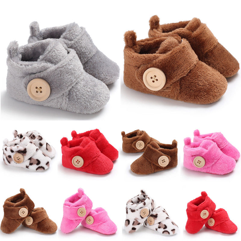 Cute Baby Girls Newborn Infant Baby Animals Lion First Walker Toddler Shoes