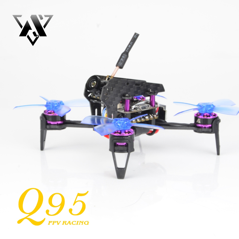 awesome ts 195 195mm f3 fpv racing drone pnp black and golden Awesome Q95 95mm 5.8G 48CH 25mW PNP 600TVL Camera FPV With F3 10A Blheli_S 1103-7500KV Motor Outdoor Toys Racing Drone