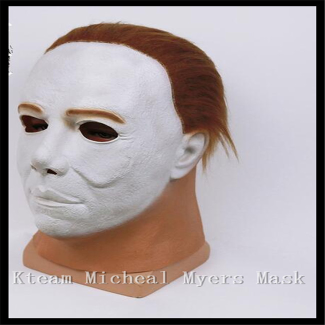 Hot Sale New Fashion Style Halloween Horror Movie Mask Fancy Dress Myers Horror Mask Latex Michael Myers Mask Free shipping