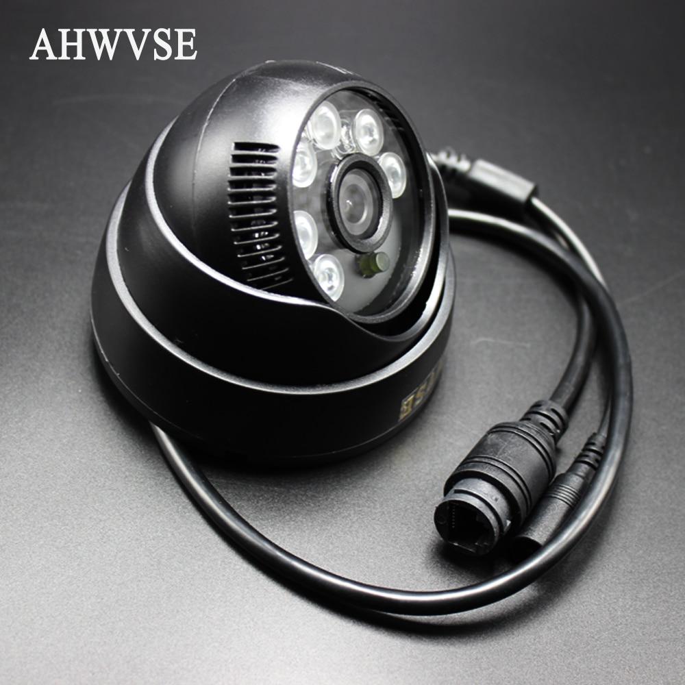 Audio IP Caméra Grand Angle IP POE Caméra Dôme Intérieur Caméra sécurité 1080 P FULL HD IP Caméra IR Cut Filtre ONVIF Motion