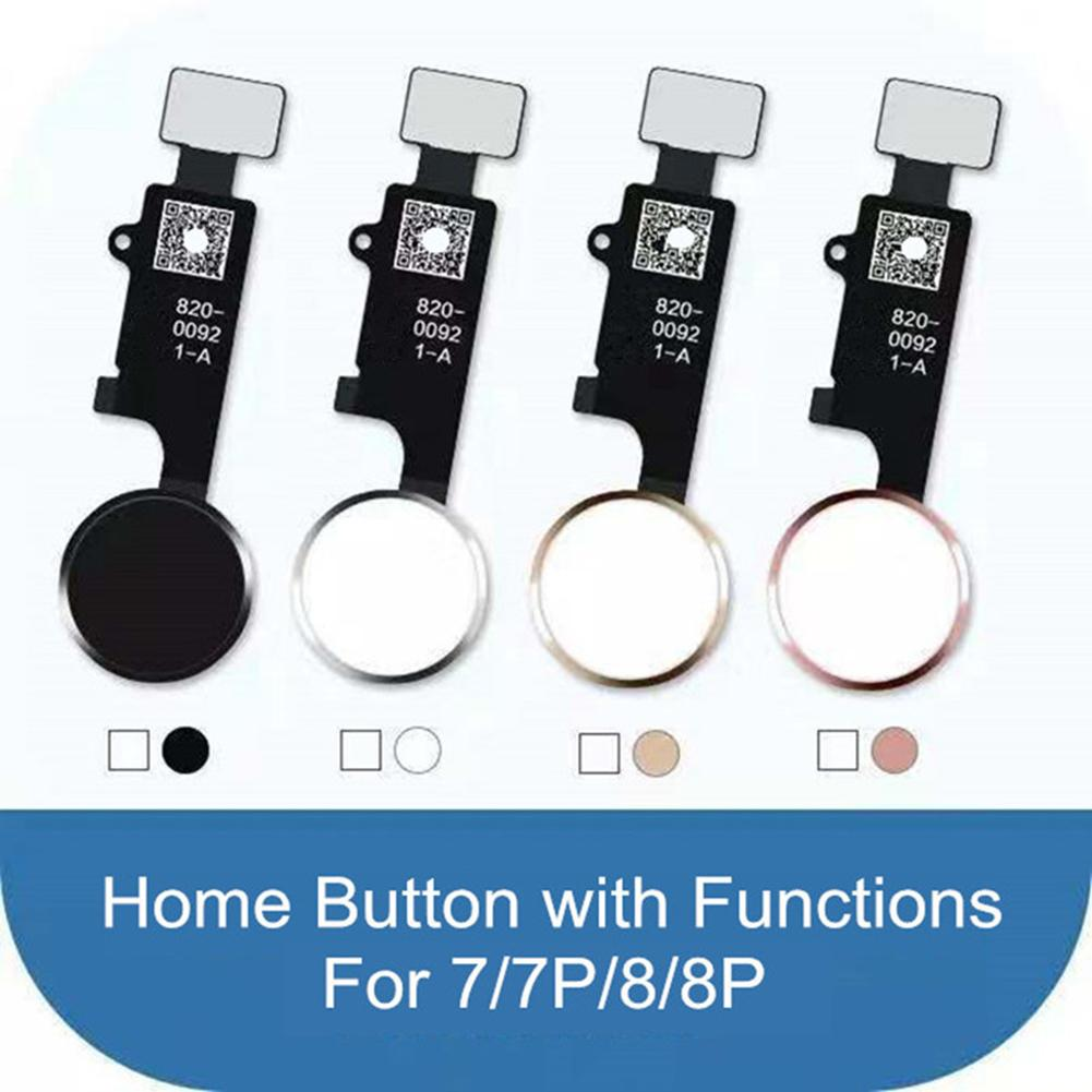 3rd Generation Universal Home Button Flex Without Touch ID For Iphone 7 8 Plus Good Quality