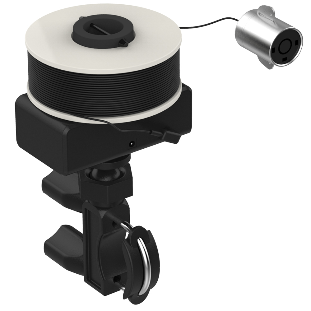 Line Wheel Type Visual Fish Finder with Infrared Underwater Camera &#038; 30meters <font><b>Mobile</b></font> <font><b>Phone</b></font> WIFI Connection &#038; Universal Bracket